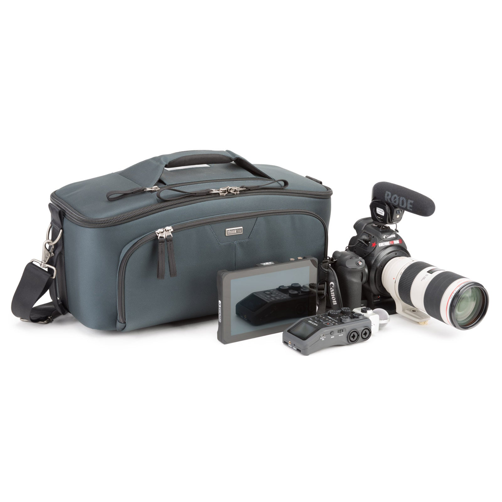 Video Workhorse 19 Shoulder Bag with Canon Rig