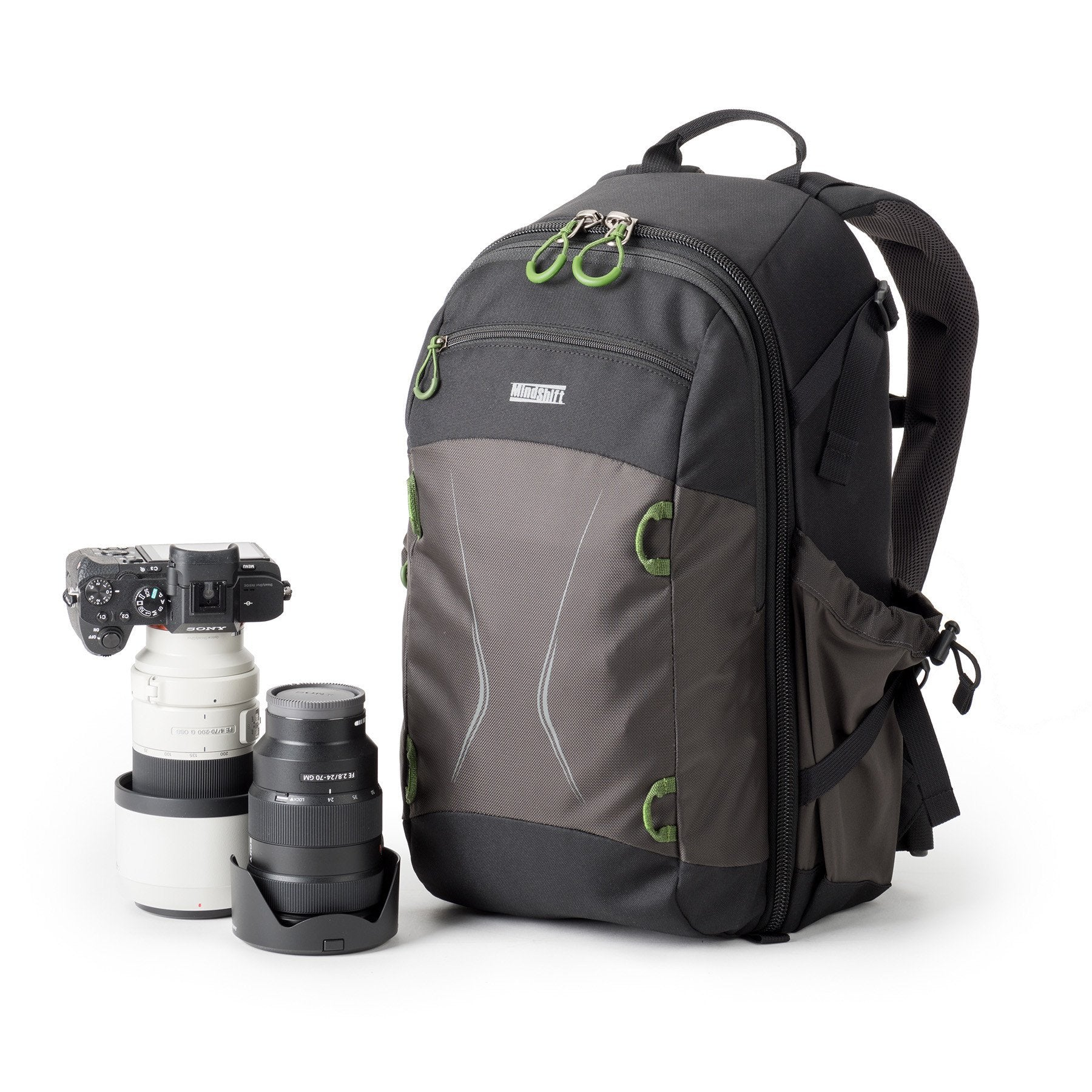 MindShift TrailScape 18L - The TrailScape offers a spacious interior, allowing for plenty of photo gear, yet maintains a slim and compact profile.