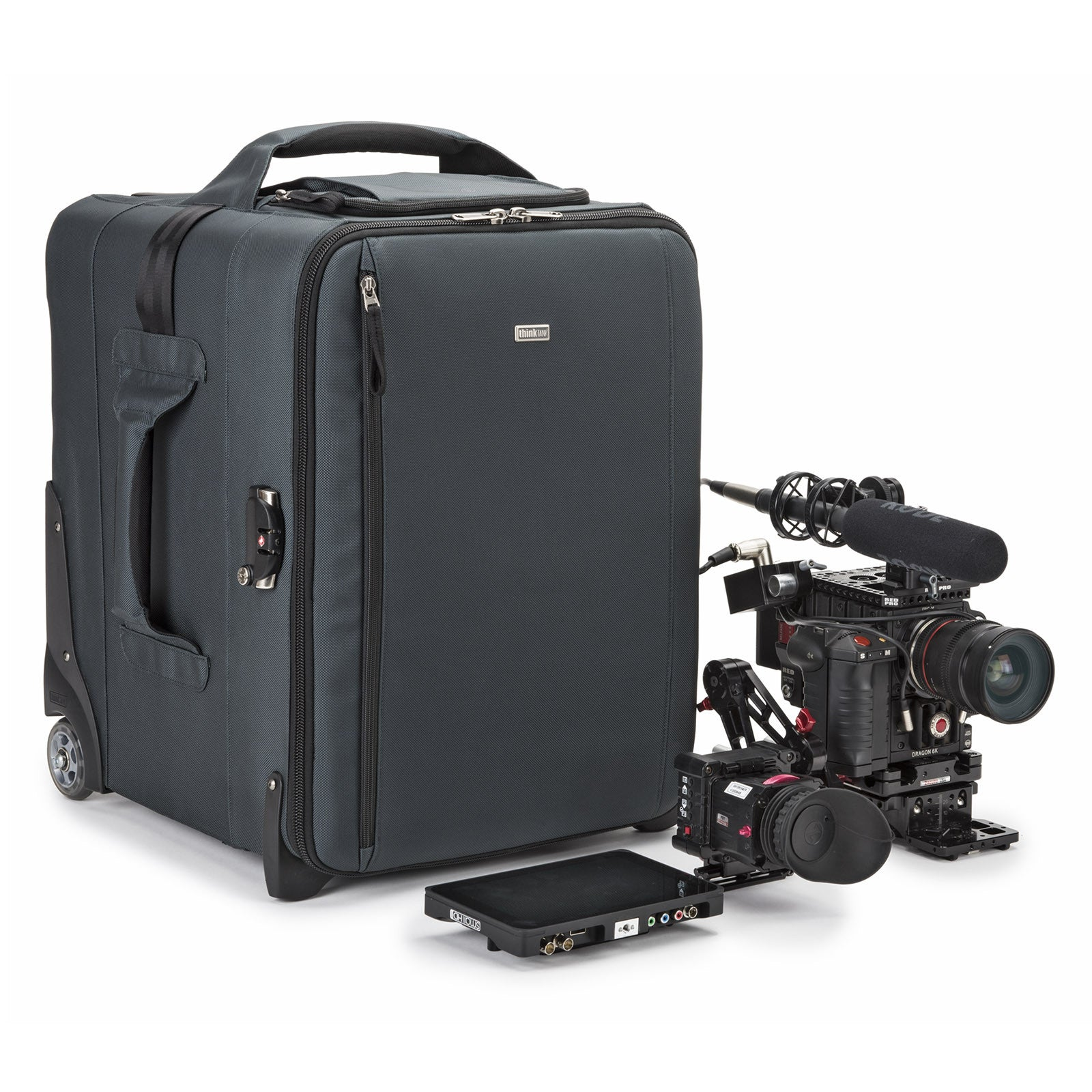 Video Rig 18 Rolling Bag with RED Rig