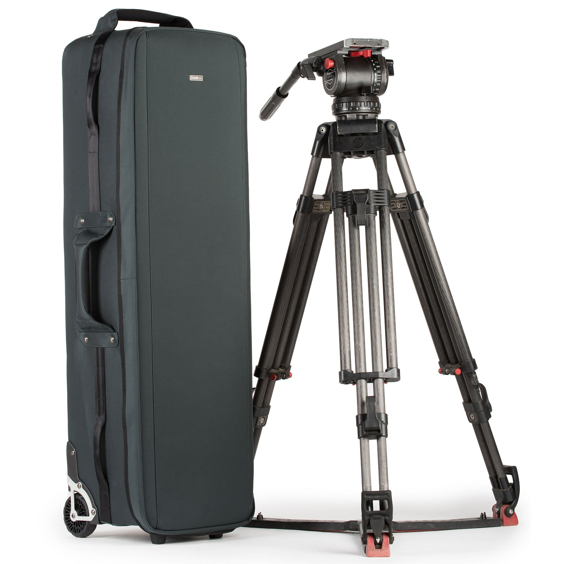 Holds cinema sized tripods, stands, sliders and/or modifiers up to 40""