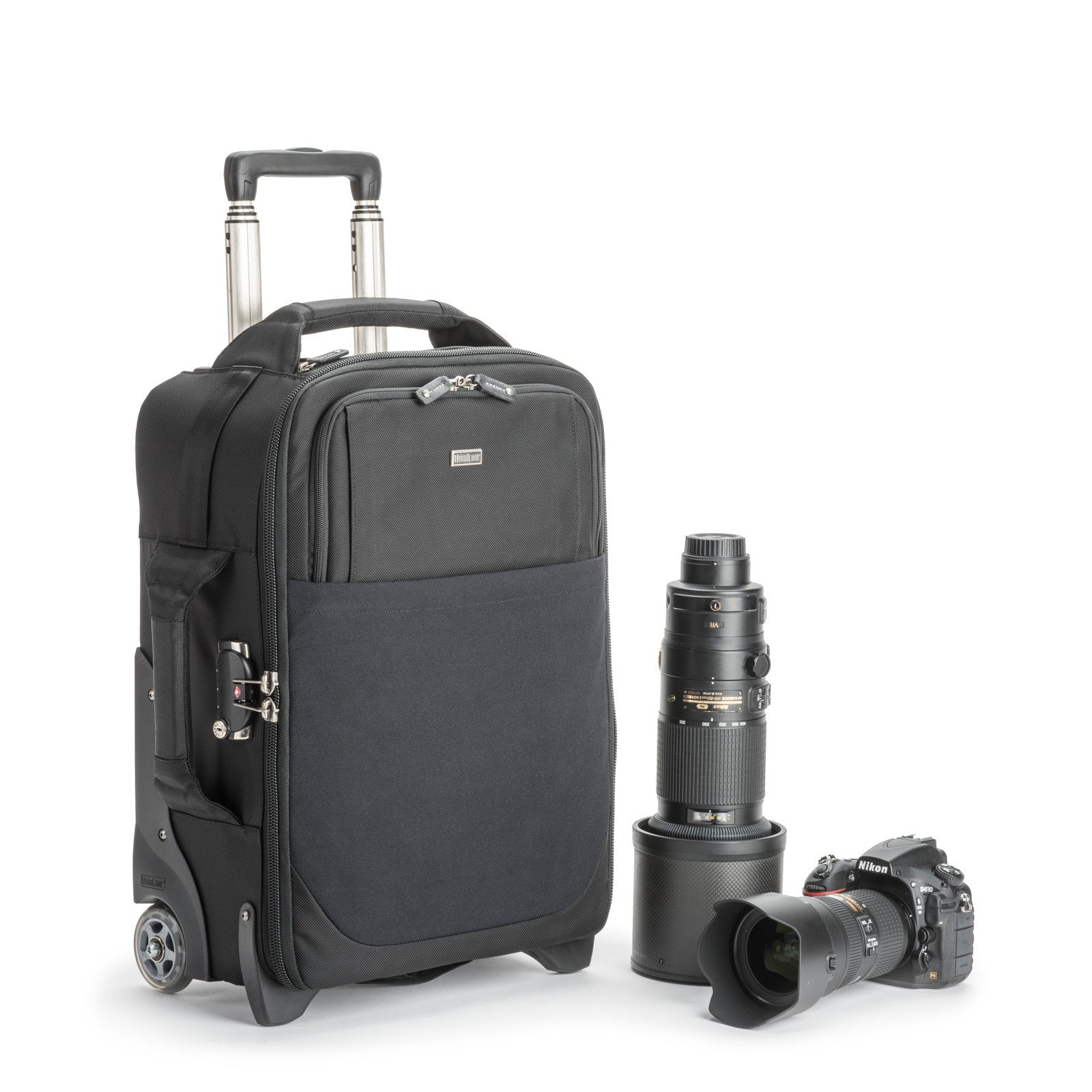 Specially designed interior to maximize gear for carry on, meets most U.S. and international airline carry on requirements