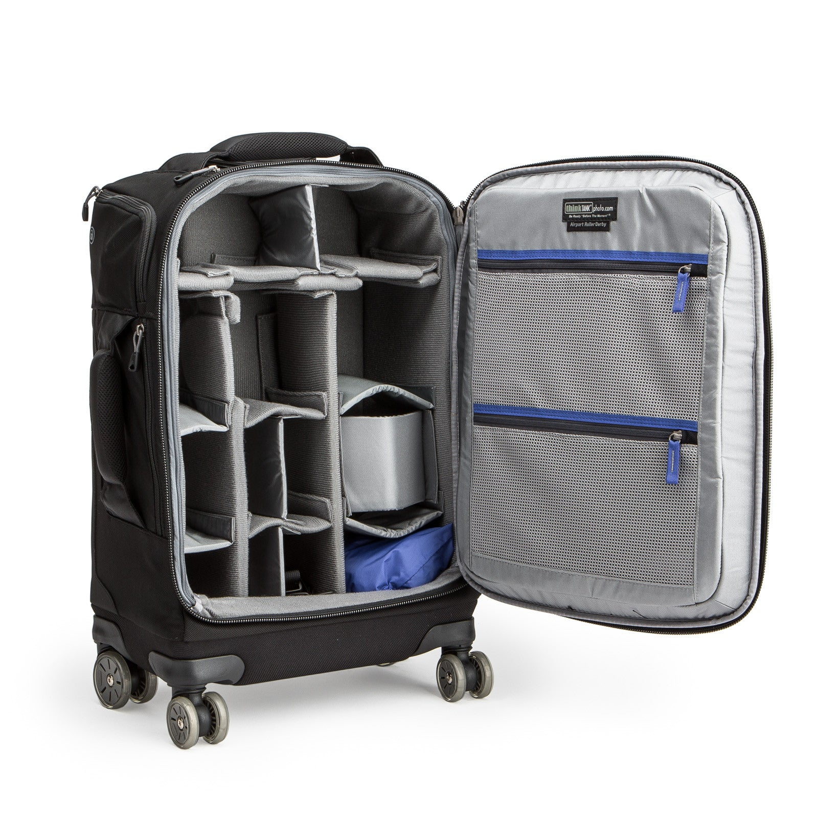 Airport Roller Derby Rolling Camera Bags For Airlines