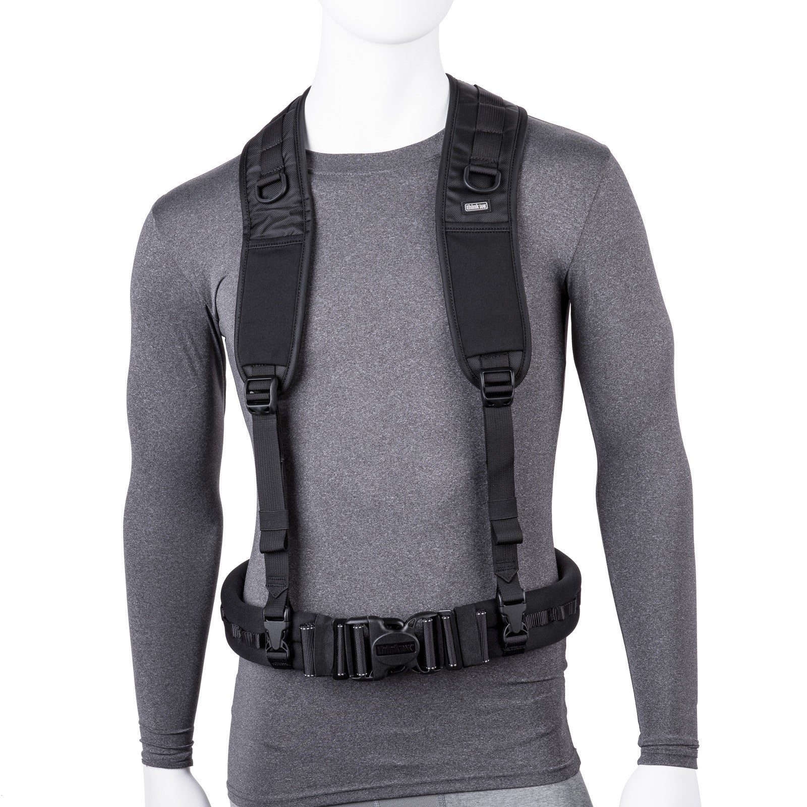Pixel Racing Harness attaches to belt to relieve weight from your around your waist.
