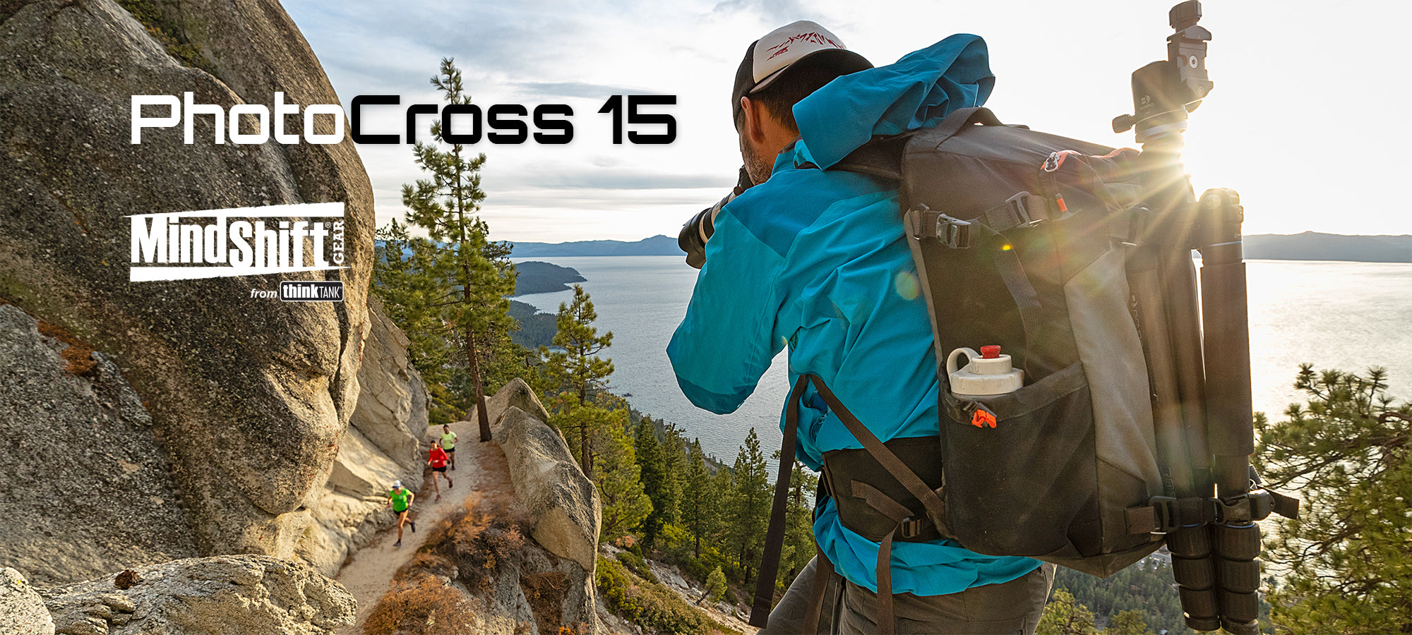 MindShift PhotoCross 15 backpack - Adventure photographers need a camera bag that's as tough as they are.