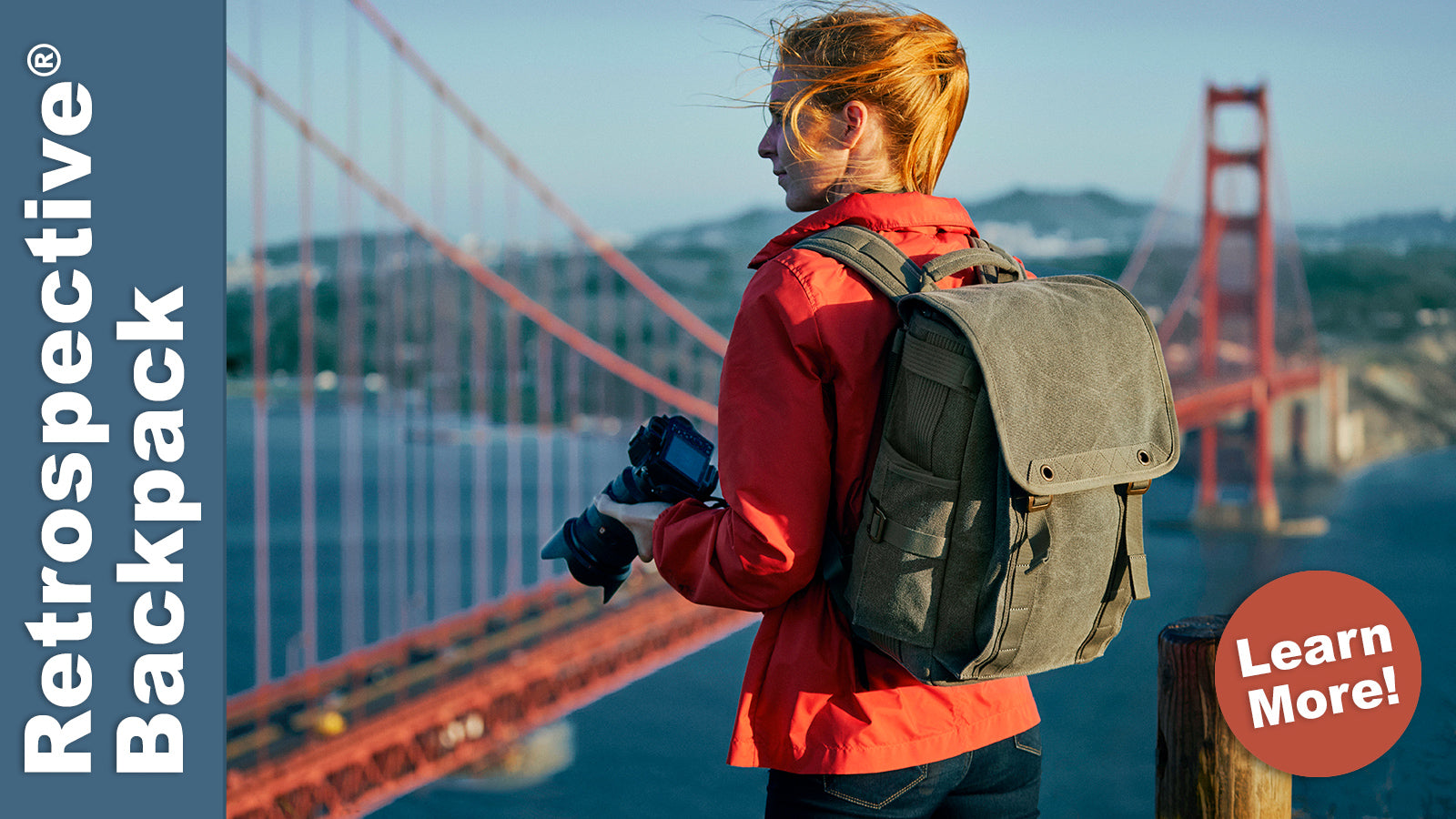 Whether bushwhacking through the outback or horse packin' in the Wild West, the Retrospective Backpack 15 is built for back-road adventure travel.