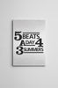 Five Beats A Day