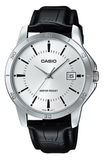 Casio MTP-V004L-7A Men's Standard Analog Stainless Steel Date Silver Dial Watch