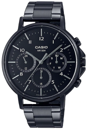 Casio MTP-E321B-1AVDF Multi Dial Men Watch