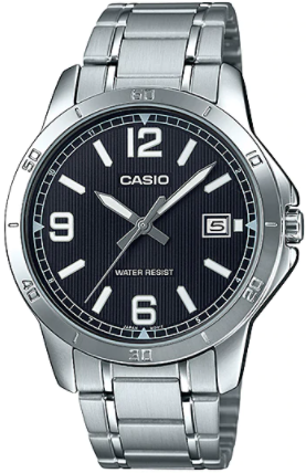 Casio - MTP-V004D-1B2UDF - Stainless Steel Wrist Watch for Men