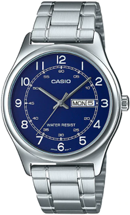 Casio MTP-V006D-2BUDF Classic Series Men's Analog Blue DIal Watch