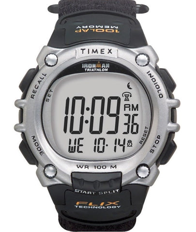 Timex Men's  Ironman Traditional 100-Lap Flix Technology Sport Watch T5E261