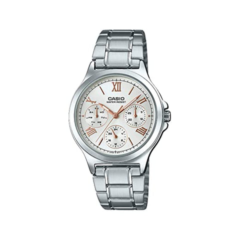 Casio Analog White Dial Women's Watch-LTP-V300D-7A2UDF (A1697)