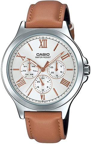 Casio Analog White Dial Men's Watch-MTP-V300L-7A2UDF (A1690)