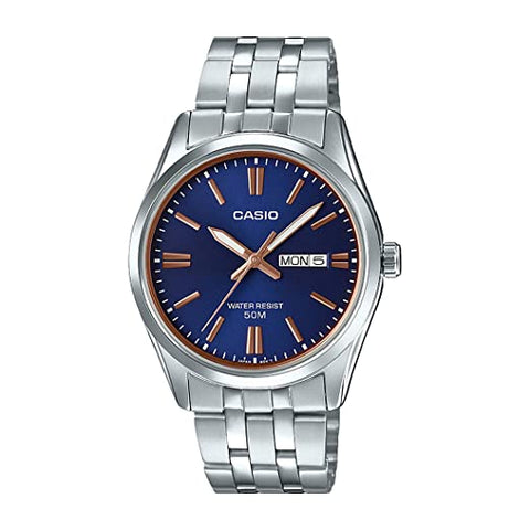Casio Analog Blue Dial Men's Watch-MTP-1335D-2A2VDF (A1516)