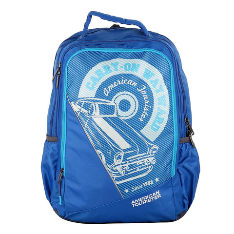American Tourister POP 02 BLUE Backpack