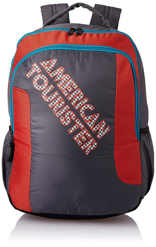 American Tourister 46 cms Grey Casual Backpack (AMT CRUNK 2017 BKPK 06- GREY)