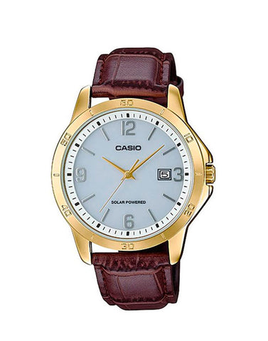 Casio MTP-VS02GL-7A Men's Standard Gold Tone Watch