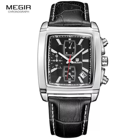 MEGIR 2028-BL-SL-BL-Leather