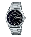 Casio MTP-V006D-1B2UDF Men's Stainless Steel Easy Reader Dress Watch