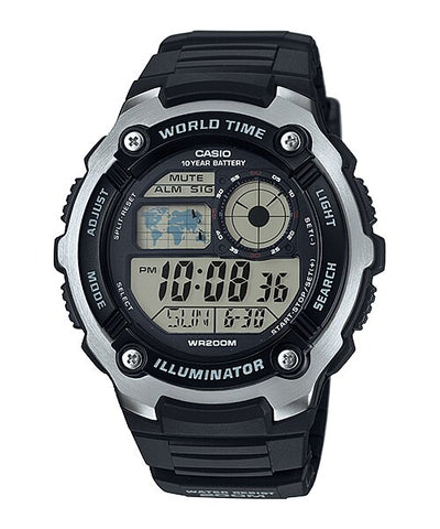 Casio Wristwatch For Men AE-2100W-1AVDF