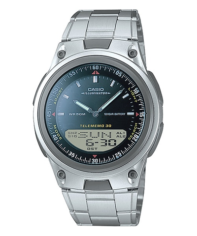 Casio General Men's Watches Digital-Analog Combination AW-80D-1AVDF