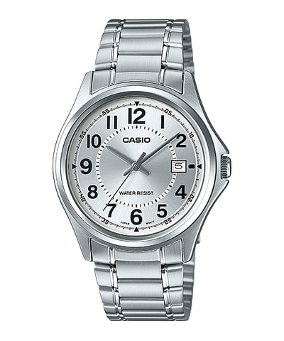 Casio Watch For Men MTP-1401D-7A Stainless Steel Band