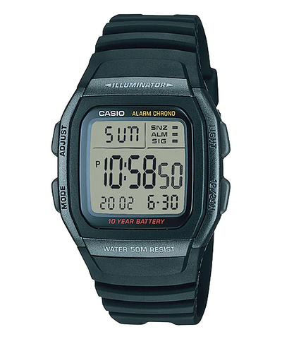 Casio W-96H-1BVDF Watch For Men