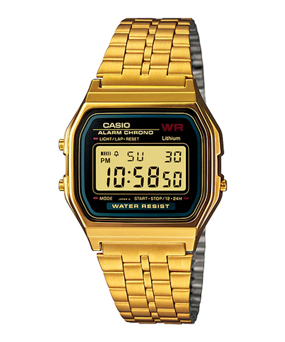 Casio Men's Watch A159WGEA-1DF STAINLESS STEEL BAND
