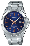 Casio MTP-1308D-2AVDF Men's Standard Stainless Steel Blue Dial Casual Analog Watch