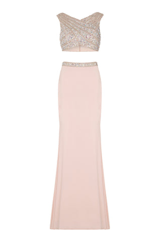 Dynasty Prom Dress Rose