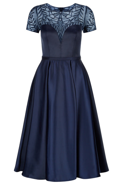 10303 - Navy Cocktail Dress