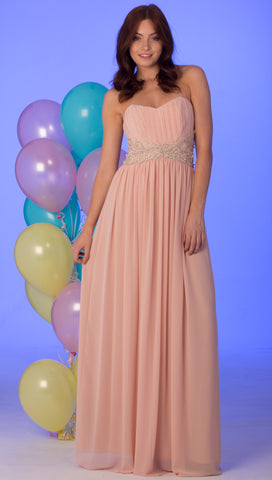 Nataliya Nude Prom Dress