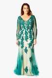 Dynasty Curve Evening Dress  - Anna