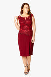 Dynasty Curve Cocktail Dress  - Letizia
