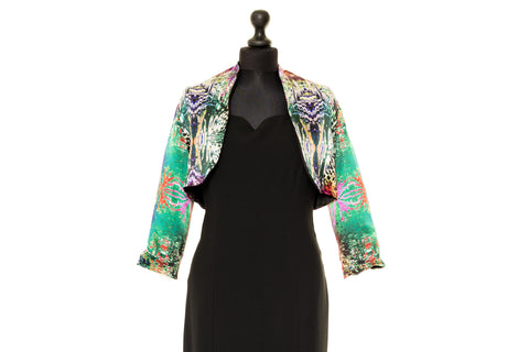 Chloe - Multicoloured Reversible Silk Jacket