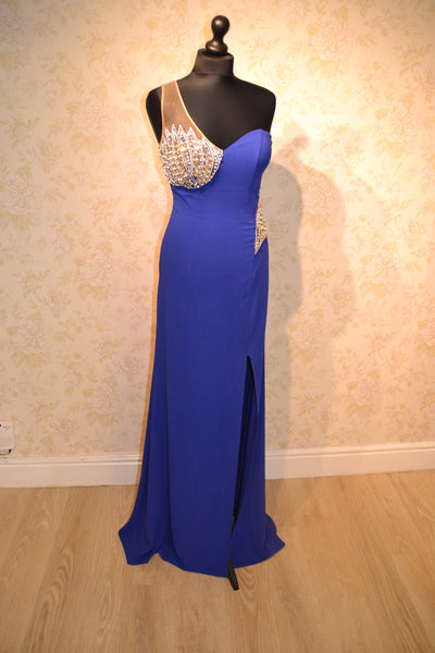 Nataliya Royal Blue Evening Gown