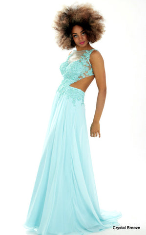Crystal Breeze Prom Dress - Donna