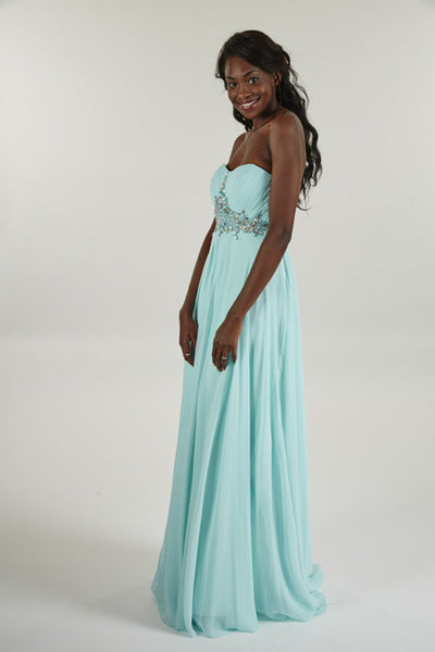 Crystal Breeze Prom Dress - Lisa Marie