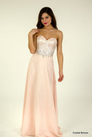 Crystal Breeze Prom Dress - Sienna