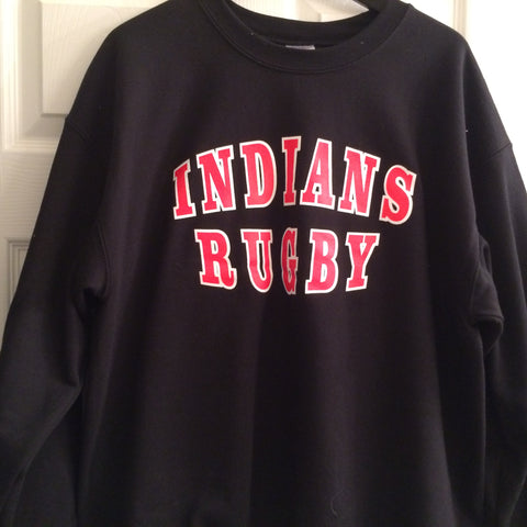 INDIANS RUGBY Crew Neck Sweat shirt