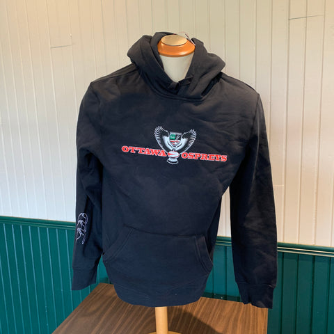 Ospreys Black Hoody- CCC