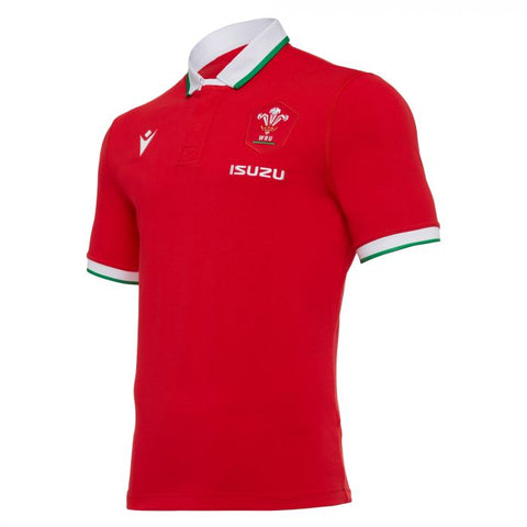 Wales Cotton Replica Jersey 20/21