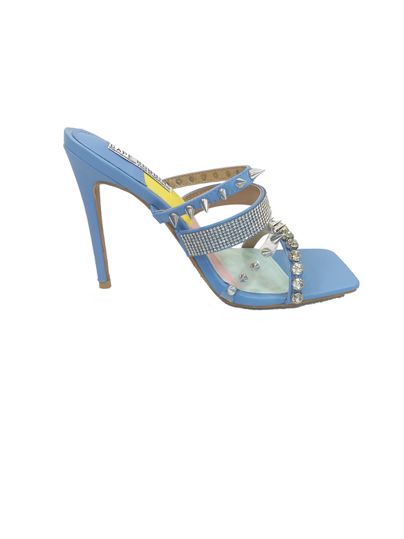 Honey Spike Heels / Baby Blue