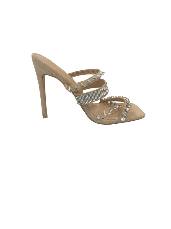 Honey Spike Heels / Nude