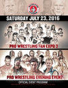 MASTERS OF RING ENTERTAINMENT'S PRO WRESTLING FAN EXPO 3 COLLECTIBLE PROGRAM