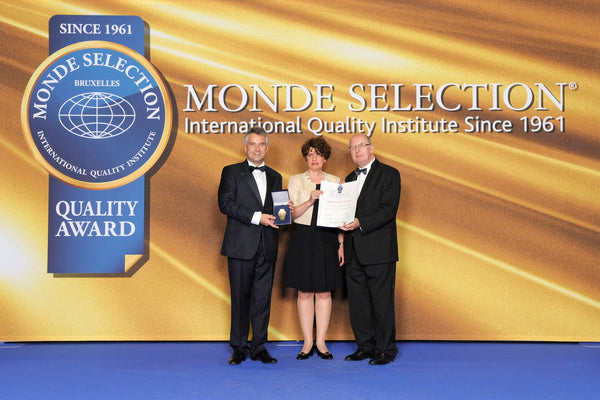 Grand Gold Award, World Quality Selections, Monde Selection, Bruxelles