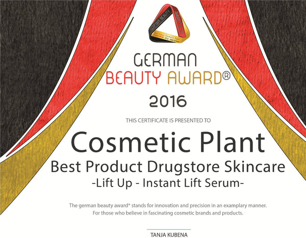 Best Drugstore Skincare Product pentru produsul LiftUp – Ser lift instant, German Beauty Award