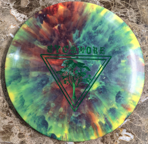 Chainbang - Dyed 1st Run AGL Discs Alpine Sycamore 175g (#25)