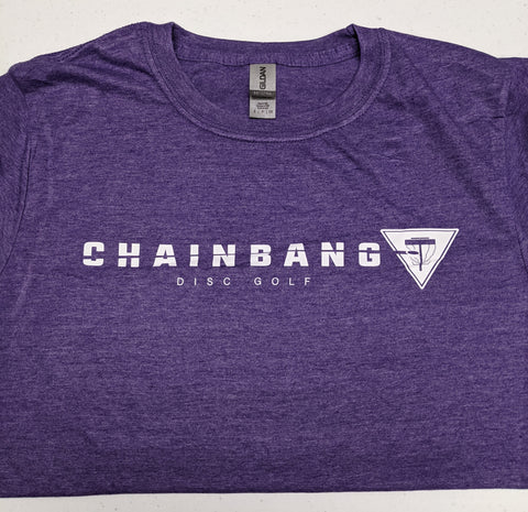 Chainbang - Purple 'Chainbang Bar Logo' Shirt