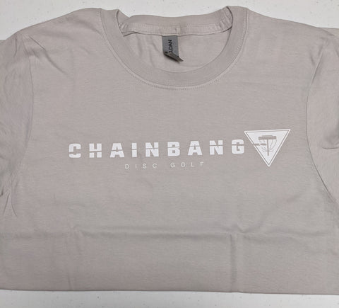 Chainbang - Grey 'Chainbang Bar Logo' Shirt